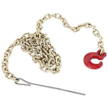 Chaîne-élingue avec crochet et aiguille de métal