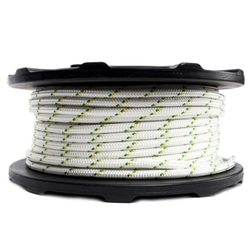Corde double tresse de treuil