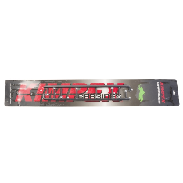 Carbide Wear Bars : ° carbide wear bar runner deg total