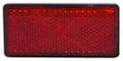 Rectangular Red Reflector
