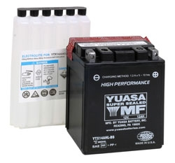 YTX14AHL-BS YUASA BATTERY by:  Yuasa Part No: YUAM62H4L - Canada - Canadian Dollars