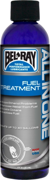 ALL IN ONE FUEL TREATMENT BEL RAY 4 OZ by:  BelRay Part No: 99570-BR4OZ - Canada - Canadian Dollars