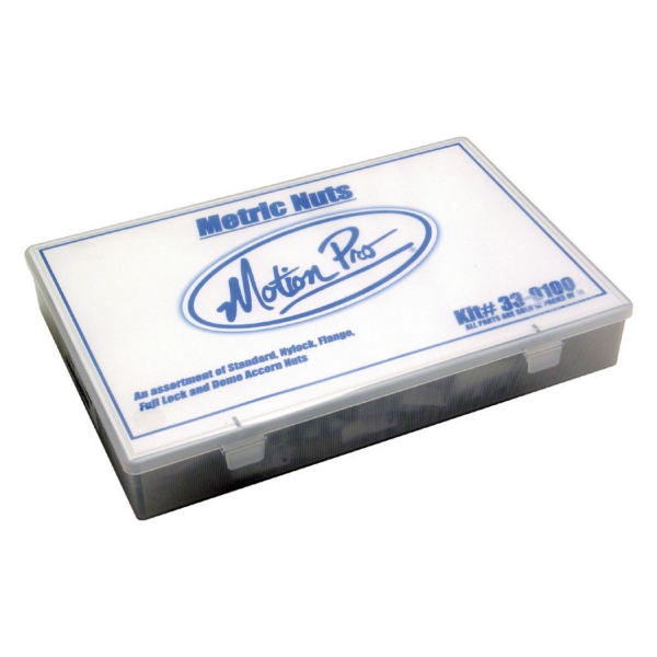 METRIC NUT HARDWARE KIT, 300 PCS by:  MotionPro Part No: 33-0100 - Canada - Canadian Dollars