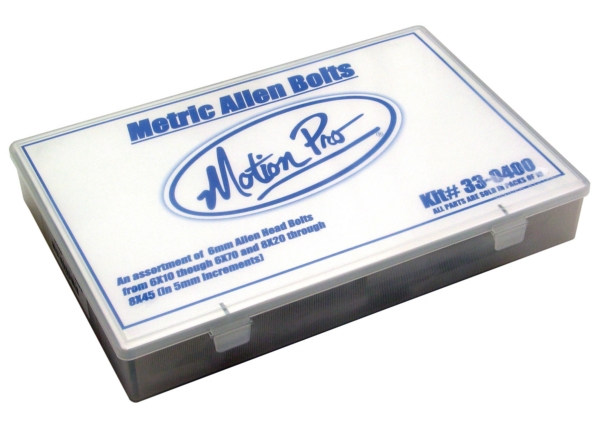 METRIC ALLEN BOLT HARDWARE KIT, 210 PCS by:  MotionPro Part No: 33-0400 - Canada - Canadian Dollars
