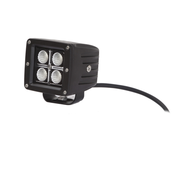 LED FOG LIGHT SEISMIC SPOT 3 IN BK by:  QuakeLed Part No: QSE11-SBS - Canada - Canadian Dollars