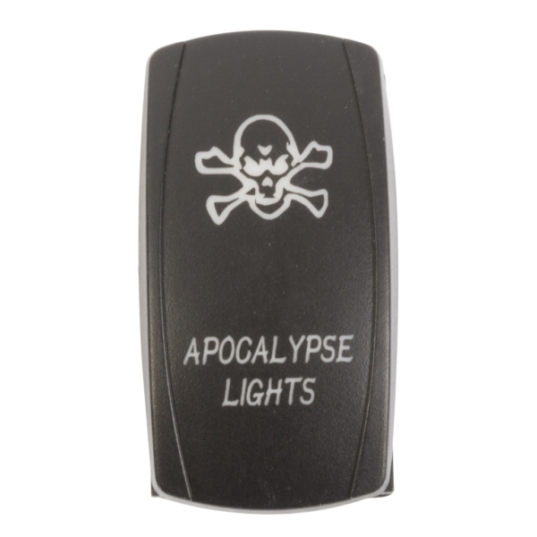 ROCKER SWITCH APOCALYPSE BL by:  QuakeLed Part No: QRS-AL-B - Canada - Canadian Dollars