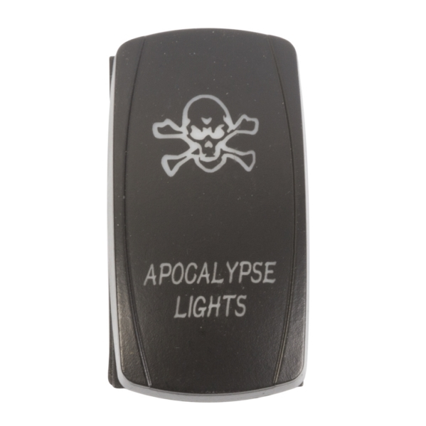 ROCKER SWITCH APOCALYPSE WH by:  QuakeLed Part No: QRS-AL-W - Canada - Canadian Dollars