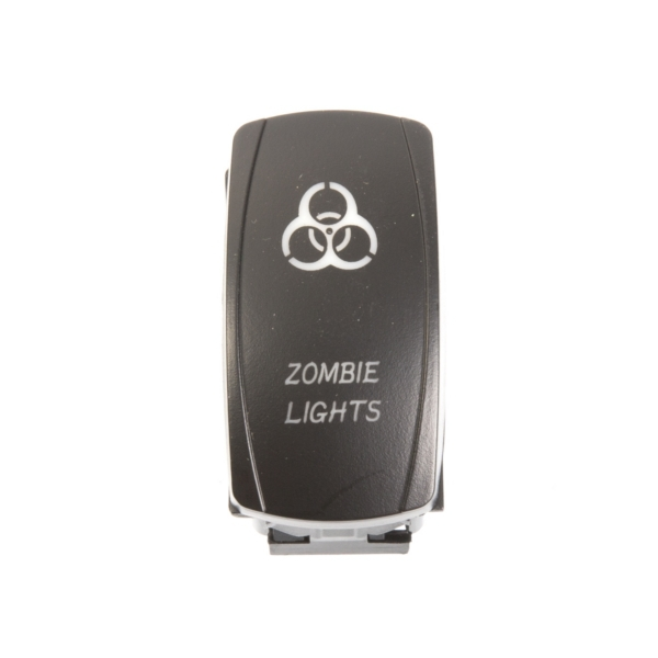 ROCKER SWITCH ZOMBIE WH by:  QuakeLed Part No: QRS-ZL-W - Canada - Canadian Dollars