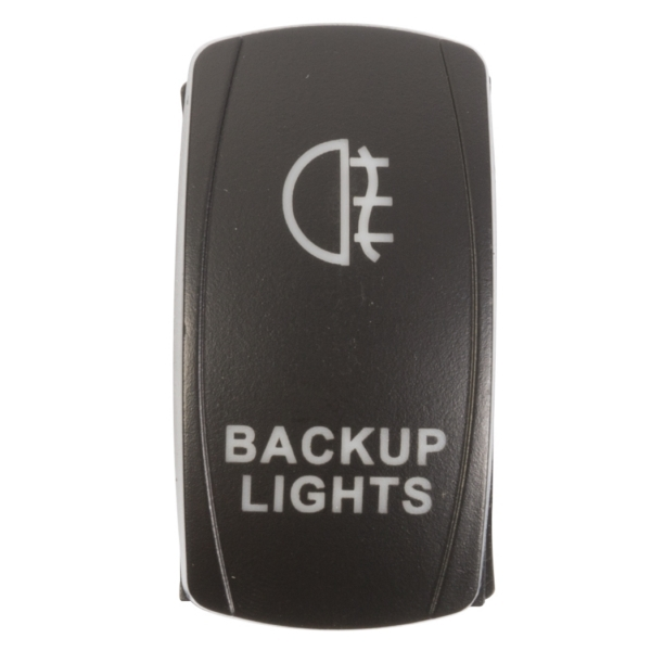 ROCKER SWITCH BACKUP RD by:  QuakeLed Part No: QRS-BL-R - Canada - Canadian Dollars