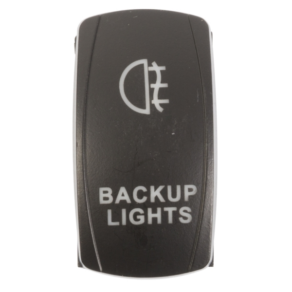 ROCKER SWITCH BACKUP AMB by:  QuakeLed Part No: QRS-BL-A - Canada - Canadian Dollars