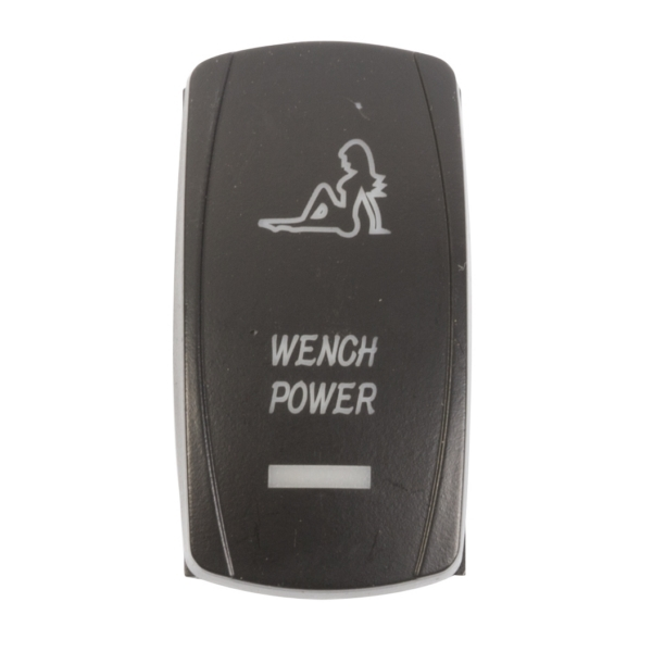 ROCKER SWITCH WENCH POWER AMB by:  QuakeLed Part No: QRS-WP-A - Canada - Canadian Dollars