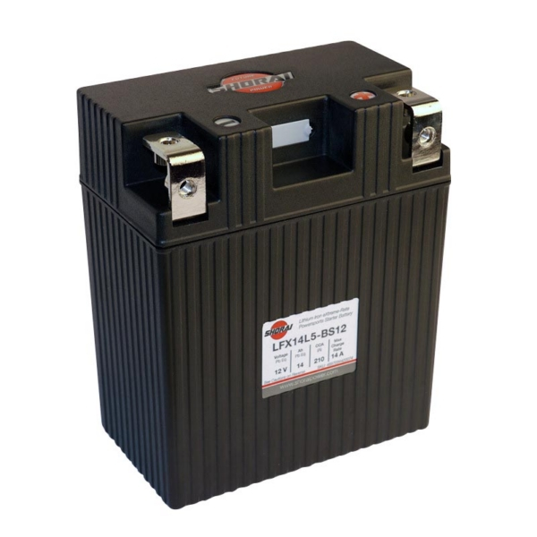 LFX14L5-BS12 SHORAI BATTERY by:  Shorai Part No: LFX14L5-BS12 - Canada - Canadian Dollars