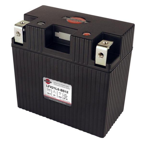 LFX21L6-BS12 SHORAI BATTERY by:  Shorai Part No: LFX21L6-BS12 - Canada - Canadian Dollars