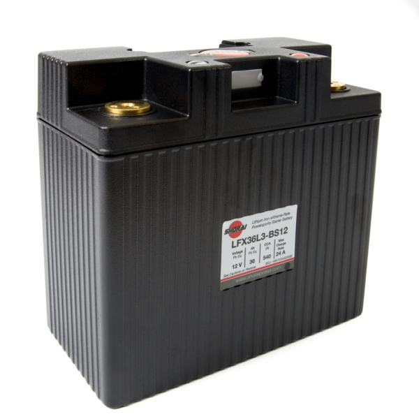 LFX36L3-BS12 SHORAI BATTERY by:  Shorai Part No: LFX36L3-BS12 - Canada - Canadian Dollars