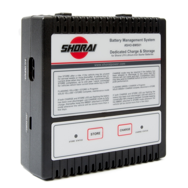SHORAI BATTERY CHARGER SHO-BMS01 by:  Shorai Part No: SHO-BMS01 - Canada - Canadian Dollars