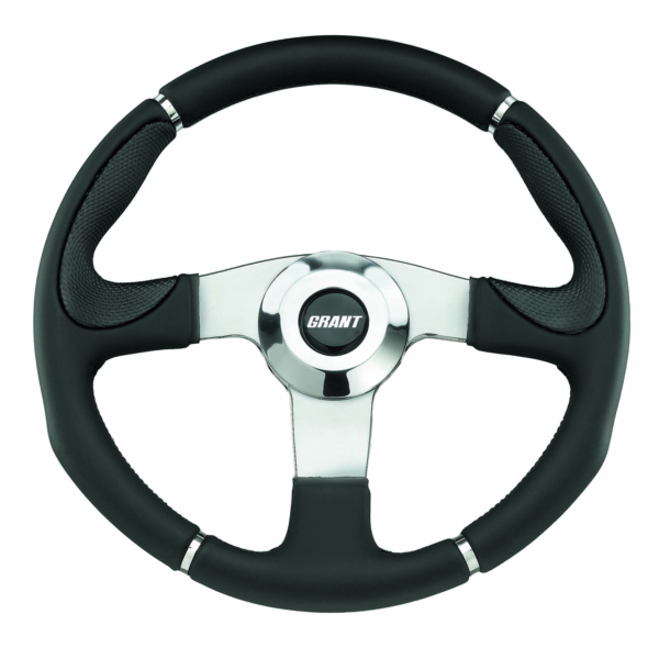 STEERING WHEEL UTV STD MATTE BK by:  Grant Part No: 452-14 - Canada - Canadian Dollars