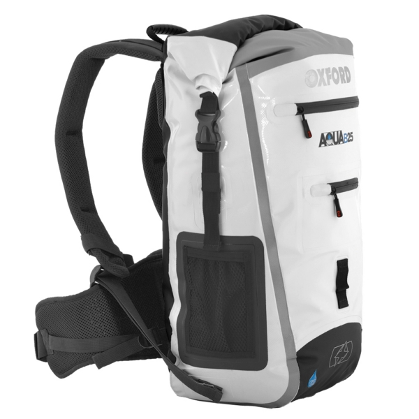 BACKPACK AQUA B25 WH/GY by:  OxfordProducts Part No: OL960 - Canada - Canadian Dollars