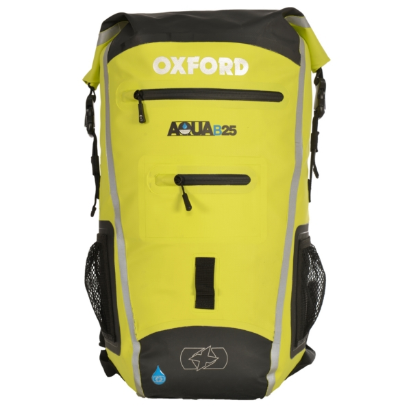 BACKPACK AQUA B25 BK/HVS by:  OxfordProducts Part No: OL961 - Canada - Canadian Dollars