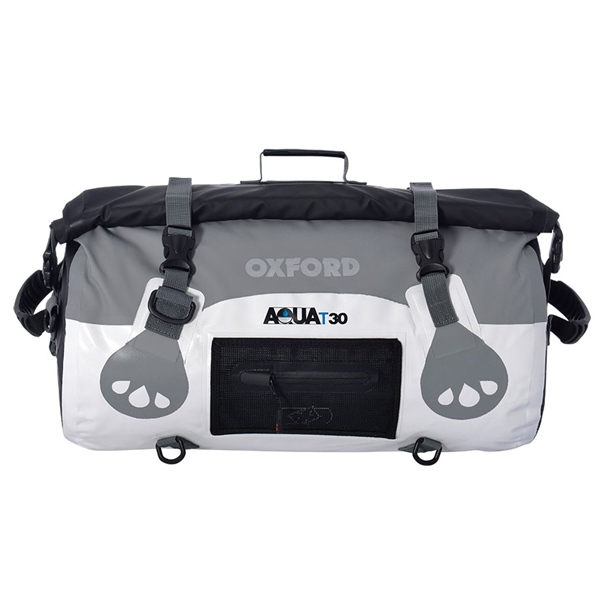 ROLL BAG AQUA T30 WH/GY by:  OxfordProducts Part No: OL970 - Canada - Canadian Dollars