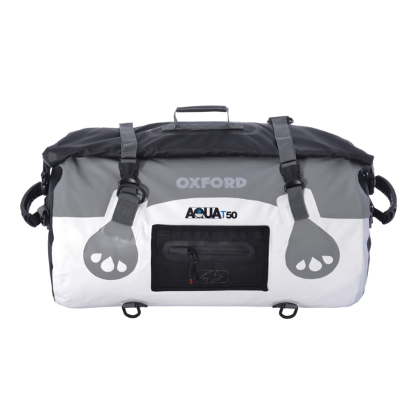 ROLL BAG AQUA T50 WH/GY by:  OxfordProducts Part No: OL971 - Canada - Canadian Dollars
