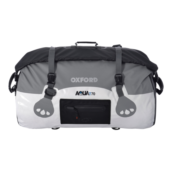 ROLL BAG AQUA T70 WH/GY by:  OxfordProducts Part No: OL972 - Canada - Canadian Dollars