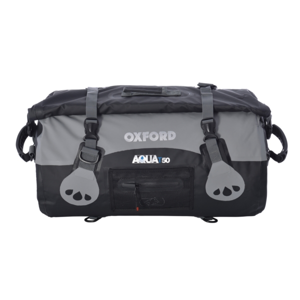 ROLL BAG AQUA T50 BK/GY by:  OxfordProducts Part No: OL991 - Canada - Canadian Dollars