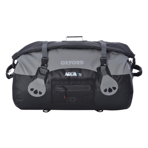 ROLL BAG AQUA T70 BK/GY by:  OxfordProducts Part No: OL992 - Canada - Canadian Dollars