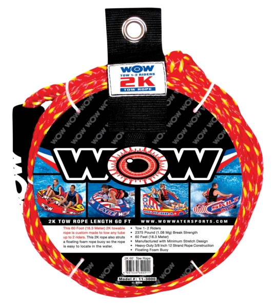 2K 60  TOW ROPE by:  Wow Part No: 402073 - Canada - Canadian Dollars