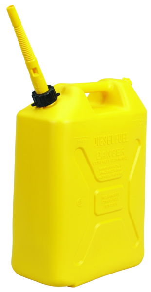 Jerry Can Miliraty Style 5 Gal. Yellow by:  Scepter Part No: 3711 - Canada - Canadian Dollars