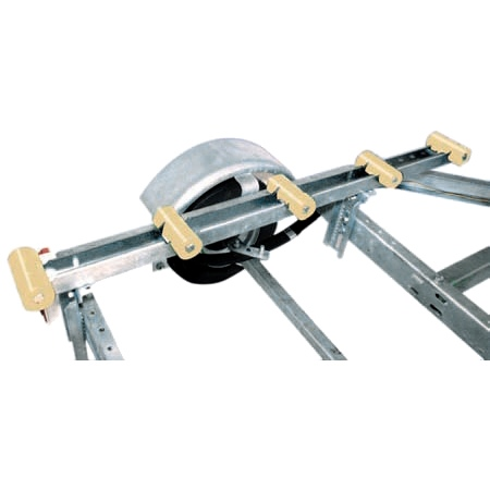 ROLLER BUNK 4 FT, HULL SAV R GALVANIZED by:  TieDown Part No: 86157 - Canada - Canadian Dollars
