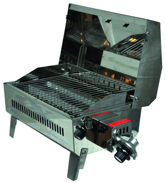 BBQ Grill, Stow & Go, SS w/rail mount by:  Springfield Part No: 1940060 - Canada - Canadian Dollars