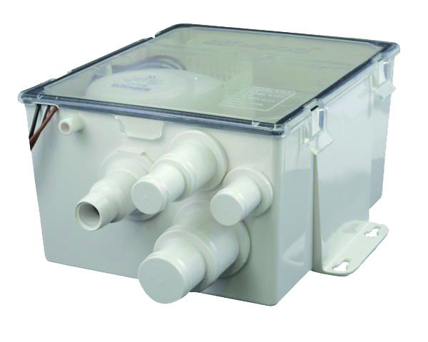 SHOWER SUMP PUMP MULTIPORT 500GPH by:  Attwood Part No: 4141-4 - Canada - Canadian Dollars