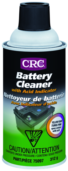 BATTERY CLEANER 312g AEROSOL by:  CRC Part No: 75097 - Canada - Canadian Dollars