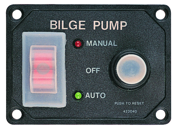 SPLASH GARDE BILGE PUMP SWITCH PANEL by:  SeaDog Part No: 423046-1 - Canada - Canadian Dollars