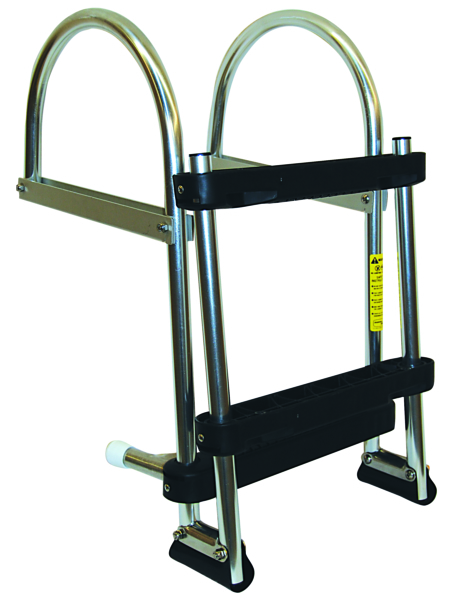 1-3 STEP FOLDING PONTOON LADDER by:  Garelick Part No: 12360:01 - Canada - Canadian Dollars