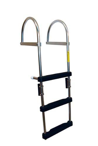 1-4 STEP FOLDING PONTOON LADDER by:  Garelick Part No: 12370:01 - Canada - Canadian Dollars