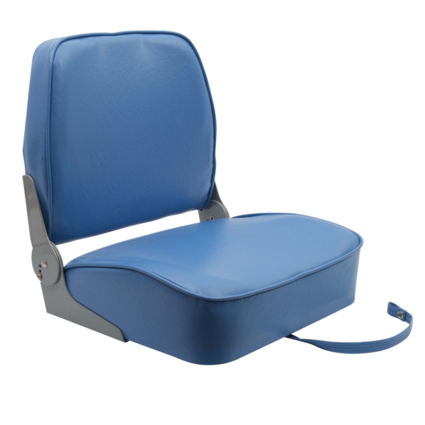 390 BLUE QUALITY FOLD DOWN BOAT SEAT by:  Garelick Part No: 48391-02:02 - Canada - Canadian Dollars