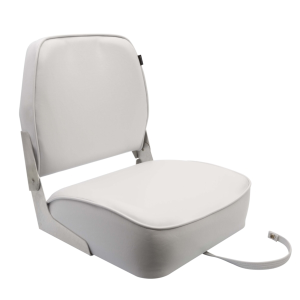 390  GRAY QUALITY FOLD DOWN BOAT SEAT by:  Garelick Part No: 48391-09:02 - Canada - Canadian Dollars
