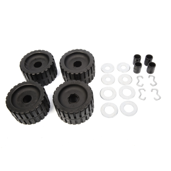 4 Pack Rib Roller Kit - Black Rollers by:  CESmith Part No: 29210 - Canada - Canadian Dollars