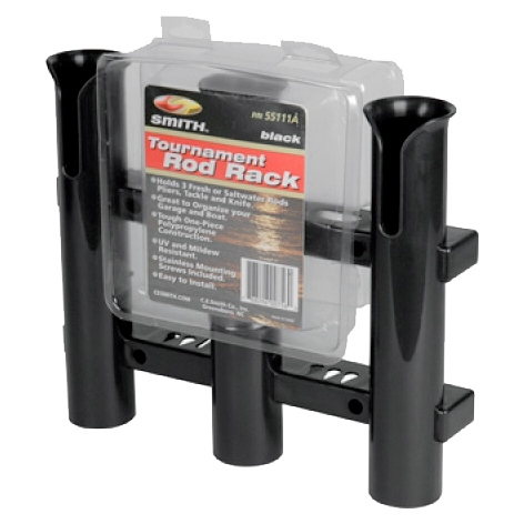 Pkg.  Tournament Rod Rack w/Tool Holder, by:  CESmith Part No: 55111A - Canada - Canadian Dollars
