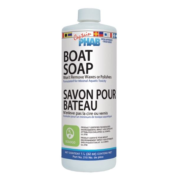 boat soap eco/certified by:  CaptainPhab Part No: 210 - Canada - Canadian Dollars