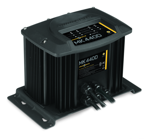 MK-440D (4 bank x 10 amps) by:  MinnKota Part No: 1824405 - Canada - Canadian Dollars