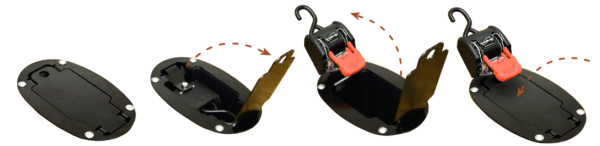 CargoBuckle Flush Mount System by:  Boatbuckle Part No: F18804 - Canada - Canadian Dollars