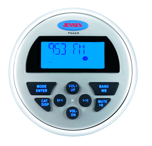 Full Display Wired Marine Remote Control by:  Jensen Part No: JWR200 - Canada - Canadian Dollars