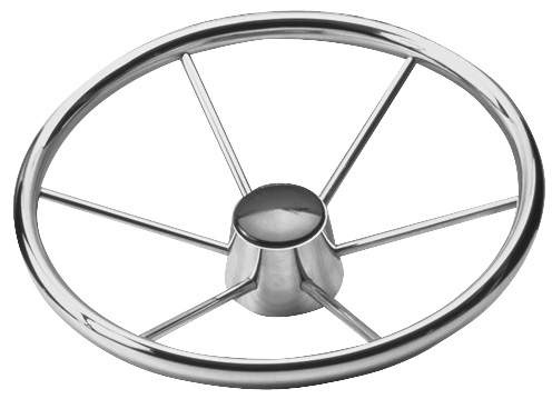 STEERING WHEEL S.S. (6 SPOKES) by:  SeaDog Part No: 230215# - Canada - Canadian Dollars