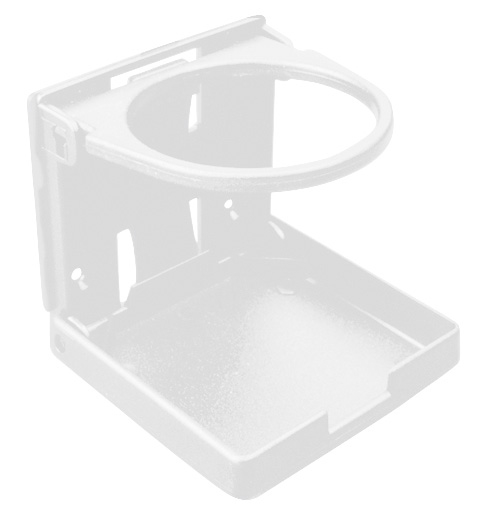 FOLDING DRINK HOLDER-WHITE by:  SeaDog Part No: 588211-1 - Canada - Canadian Dollars
