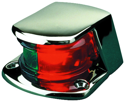 COMBINATION BOW LIGHT CHROME by:  SeaDog Part No: 400155-1 - Canada - Canadian Dollars