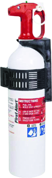 FIRE EXTINGUISHER 5BC,NO GAUGE, WHITE by:  FirstAlert Part No: FE5R-PWCNA - Canada - Canadian Dollars