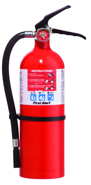 FIRE EXTINGUISHER 3A40BC,RED WITH GAUGE by:  FirstAlert Part No: FE3A40A - Canada - Canadian Dollars