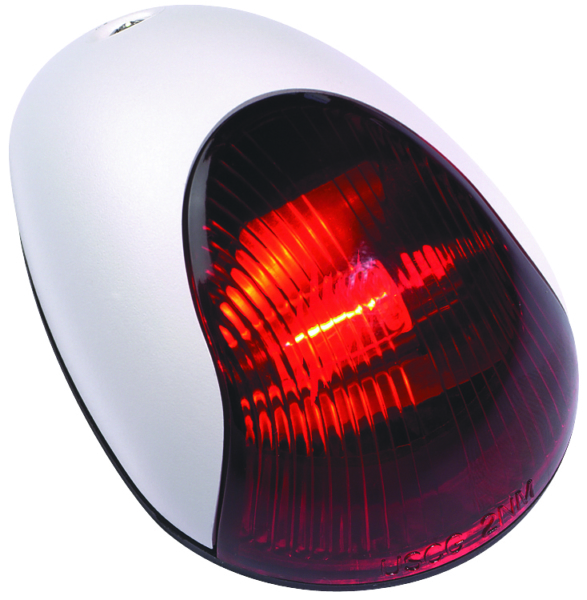 WHT VERT. MOUNT SIDELIGHT, RED, 2MILE by:  Attwood Part No: 3834R7 - Canada - Canadian Dollars